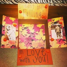 cute ideas for fall care packages - Google Search
