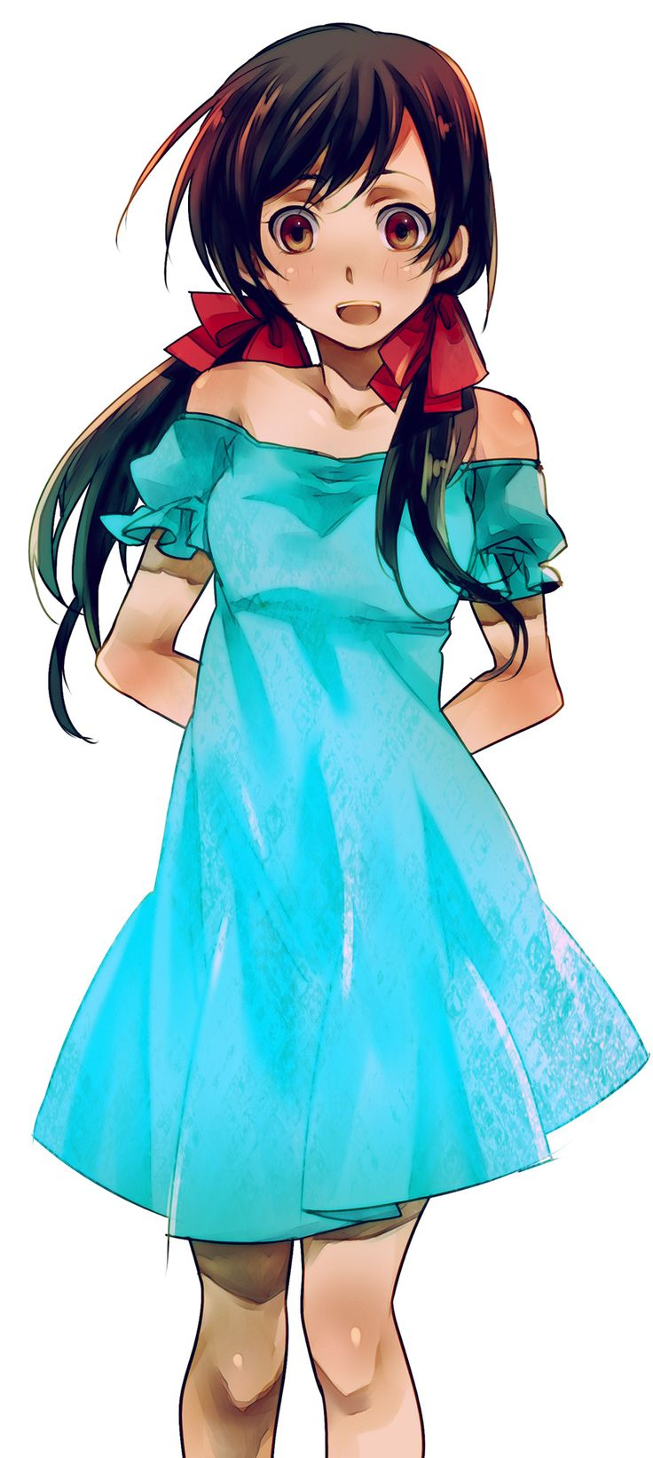 Seychelles (Hetalia) If i had to cosplay anyone I would be her. I match her skin tone and, with my brown hair it would be easy ^-^ Besides she is one of my favorite girls in Hetalia I wish they would show a lil more of her but ;-;