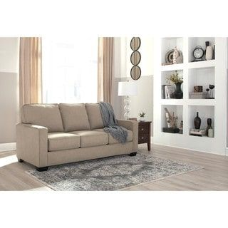 Shop for Signature Design by Ashley Zeb Quartz Full Sofa Sleeper. Get free shipping at Overstock.com - Your Online Furniture Outlet Store! Get 5% in rewards with Club O! - 20421013