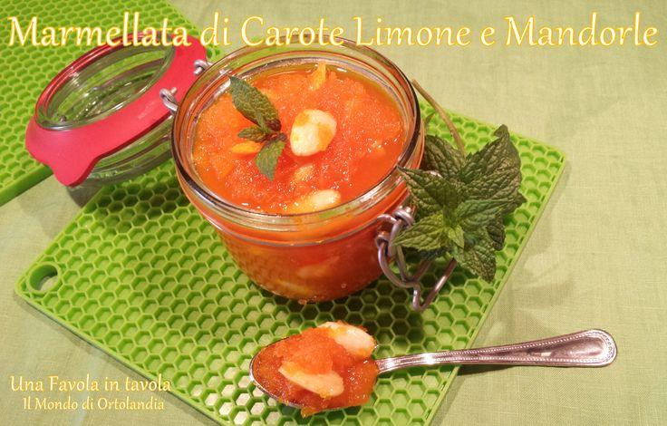 Marmellata di Carote Limone e Mandorle: magia di sapori!