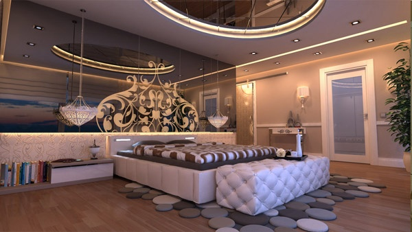 50 Mind blowing 3D Interior designs #bed #interiors #UK