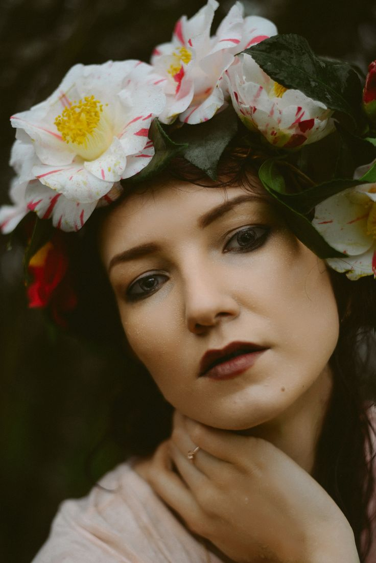 Camellias | floral crown
