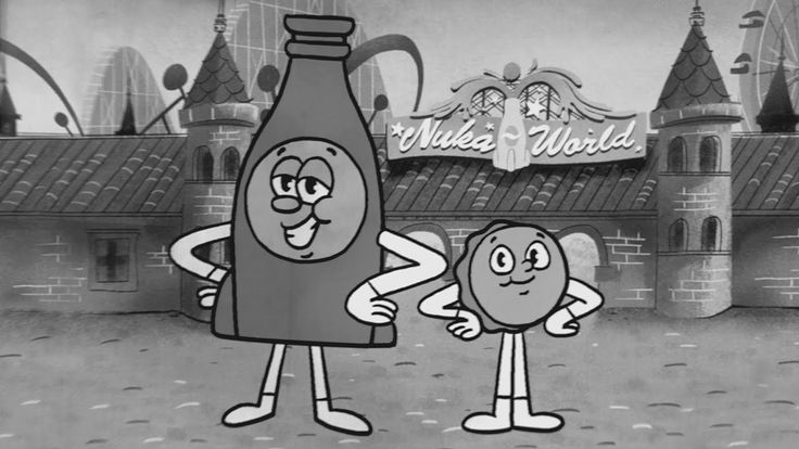 Bottle & Cappy Promote Safety & Fun in Animated Theme Song for Fallout 4's Nuka-World Add-On