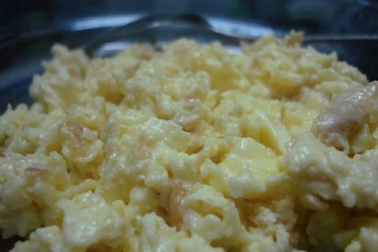 Egg with cheese