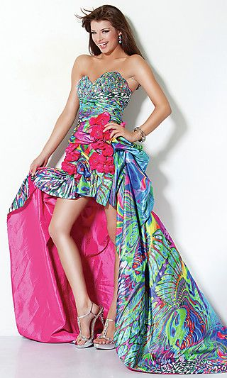 Images of ugly prom dresses