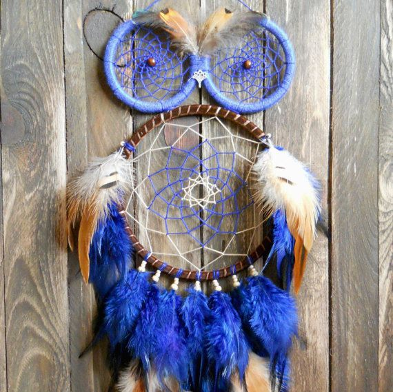 """Dreamcatcher - the main Keeper of the dream. If above your bed hangs a dream Catcher, you'll never see nightmares. The catcher in the nursery will give your child a sound sleep and sweet dreams.     The amulet will also serve as a decor of the main room of your home or decorate your shop window.     The Dreamcatcher can be hung on the wall above the bed or over a sofa, and can be hung over a child's bed (if it is mobile). Storefront will look more original than the competition ;)    """"The…"""