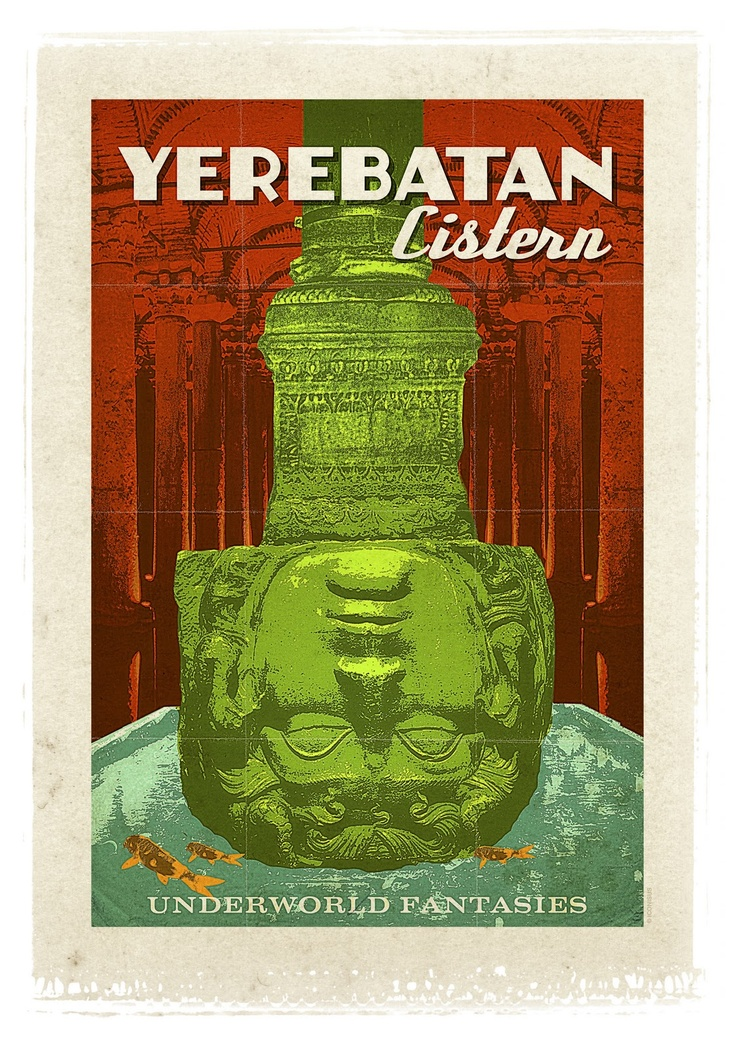 "Yerebatan Cistern / Istanbul  ""Preserve. Reserve. Serve ~ The life and times of Istanbul at the heart of historical center""  www.armadaistanbul.com www.armadaistanbulculture.com"