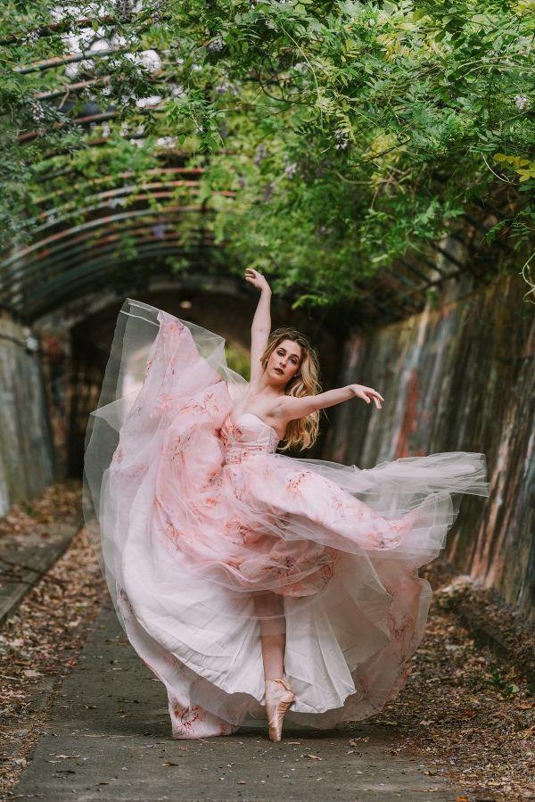 Ballerina bride  #wedding #weddings #aislesociety #engaged #weddinginspiration #pinkwedding