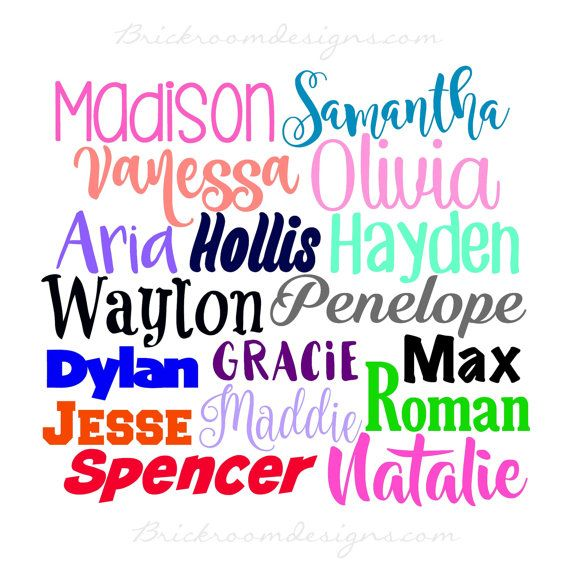 Best Name Decals Images On Pinterest Colour Chart Vinyl - Custom made vinyl decals