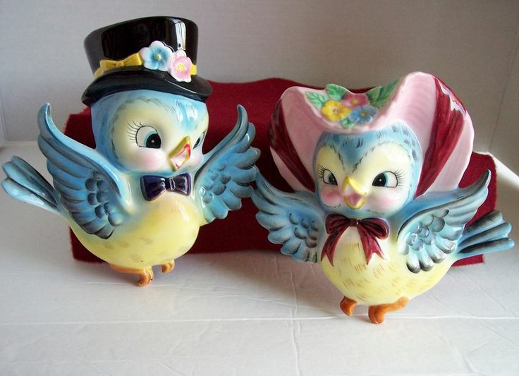 227 Best Vintage Lefton Bluebird Collectibles Images On