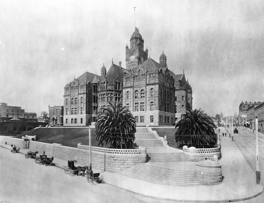 The Los Angeles County Courthouse - 50 Incredible Vintage Photographs of Los Angeles | Complex