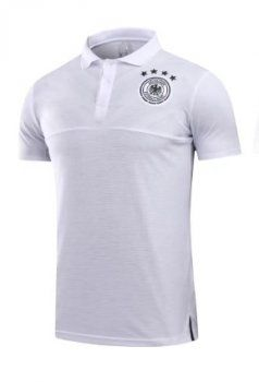 630627b73 Germany National Team 2017-18 Season White Polo Shirt  K735