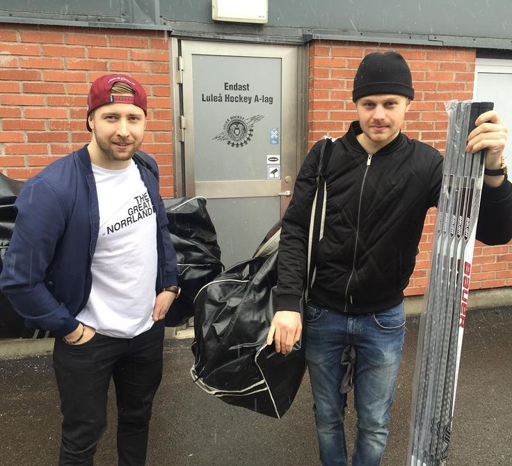 Lycka till med Tre Kronor nu Joel och Lucas! by luleahockey