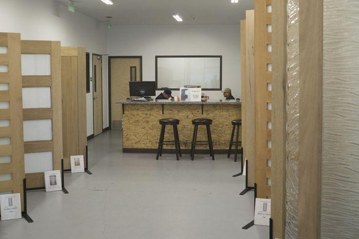 The front desk at Caldwellu0027s Doors Outlet and Showroom & 19 best Caldwellu0027s Doors Outlet images on Pinterest | Bi fold doors ...