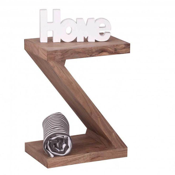 Design Beistelltisch Im Z Design Akazie Massivholz Jetzt Bestellen Unter:  Https://moebel.ladendirekt.de/wohnzimmer/tische/beistelltische/?uidu003d1638f551 481f   ...