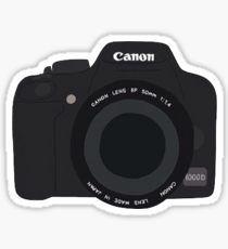 cartoon camera sticker Pegatina