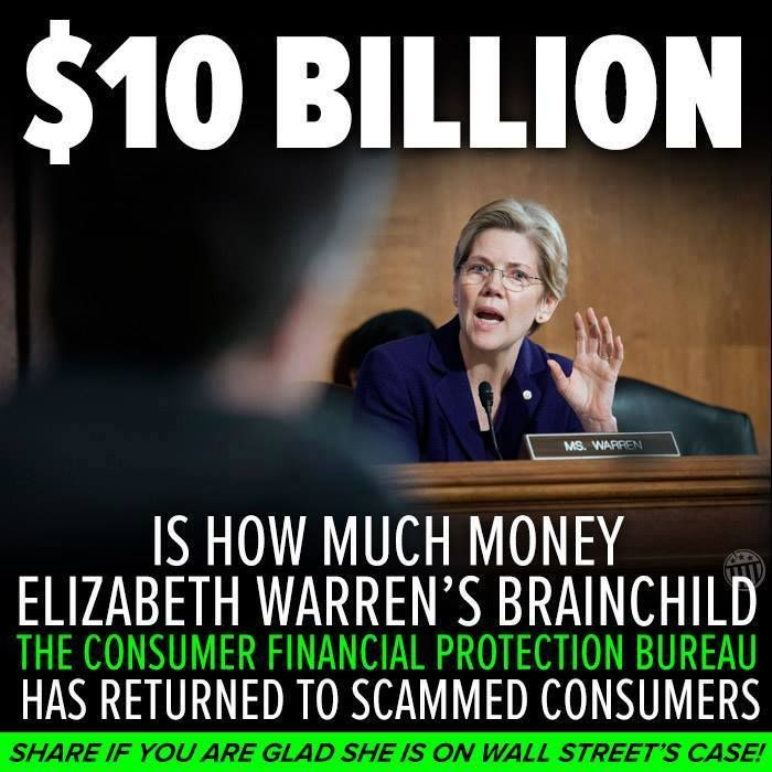 Elizabeth Warren is Brilliant & she absolutely has my Vote for the next Vice President of the United States. #VoteBlue.