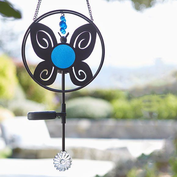 Solar Hanging Butterfly