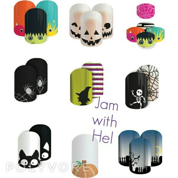 It's nearly time for Halloween Australia and New Zealand are your nails ready. Get these limited edition wraps here www.jamwithhel.jamberrynails.com