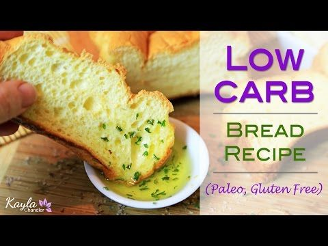 Low Carb Gluten Free Bread Recipe - Only 3 Ingredients! | Kayla Chandler
