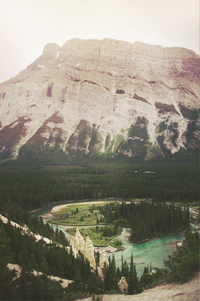 Tunnel Mountain.    Banff, Banff National Park, Alberta, Canada