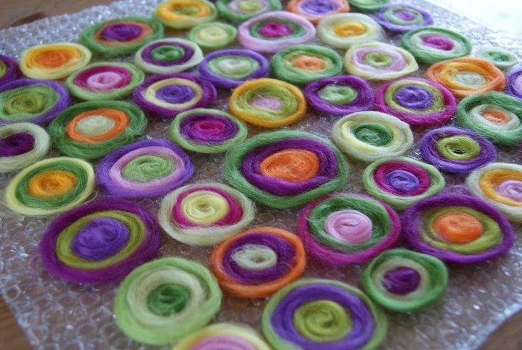 Filz und Garten: Kringel auf Wunsch