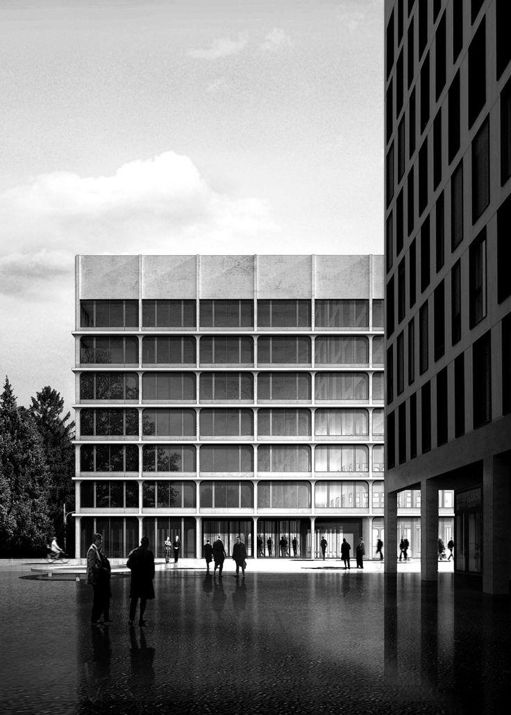 Wettbewerb im Kanton Zürich / Am Rietpark - Architektur und Architekten - News / Meldungen / Nachrichten - BauNetz.de