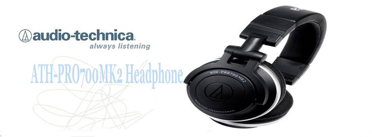 The Audio-Technica ATH-PRO700MK2 Headphones are built for discerning DJs who demand high quality sound, rugged construction and portability.