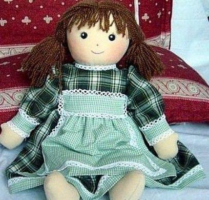 Fai da te: come realizzare una bambola di pezza [FOTO]