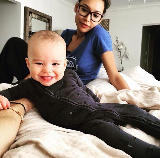 Naya Rivera and her son