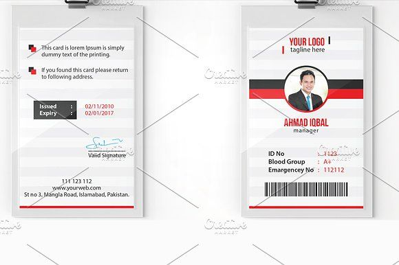 Office ID Card - Cards