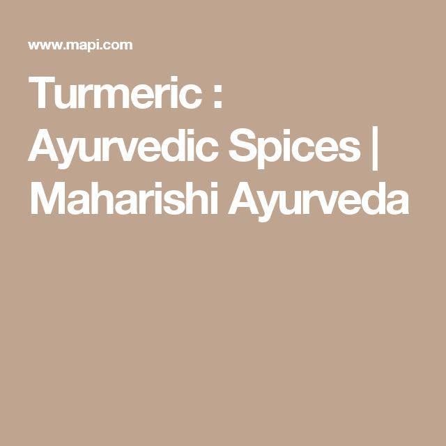 Turmeric : Ayurvedic Spices | Maharishi Ayurveda