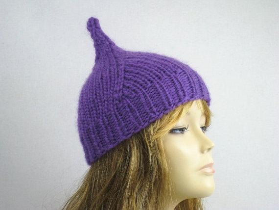 Hand Knit Hat Womens Hat Winter Fashion Winter by easycrochet, $25.00