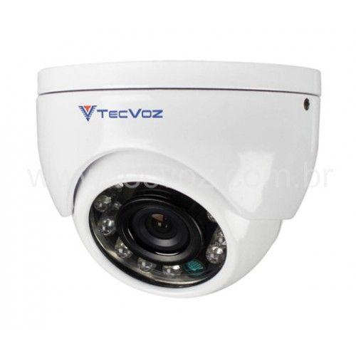 CFTV é Shop do CFTV! Distribuidora Segurança Eletronica SP e Distribuidor CFTV | Câmera Dome Infra Red DMHS12 TecVoz | CFTV Shop Distribuidora Segurança Eletrônica e Distribuidora de Equipamentos para Segurança Eletrônica SP