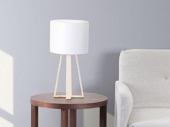 Table Lamp White   Modern   Bedside Lamp   Living Room Lamp   KORANA