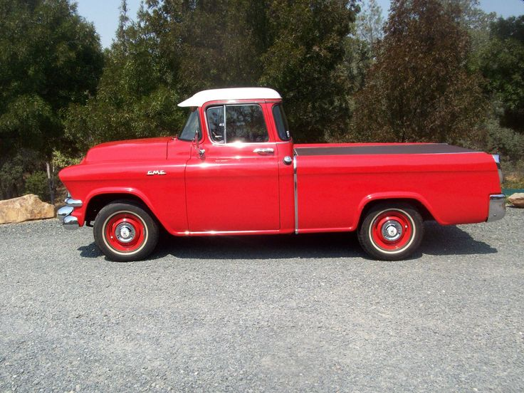 1956 GMC TOWN & COUNTRY SUBURBAN CAMEO PICKUP