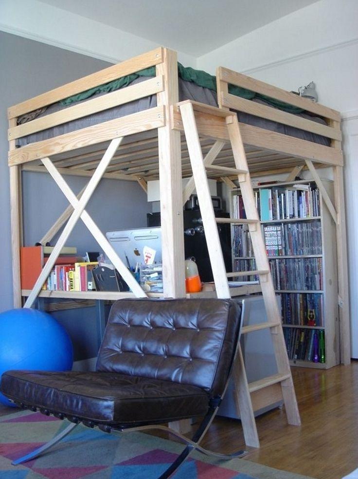best 25 queen loft beds ideas on pinterest adult loft bed king size bunk bed and loft bed. Black Bedroom Furniture Sets. Home Design Ideas
