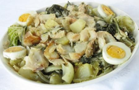 Receita de Roupa Velha de Bacalhau (Minho)   Cozinha Tradicional