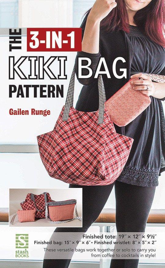 3-in-1 Kiki Bag Pattern