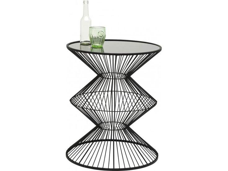 Stolik Kawowy Wire Swing — Ławy, Stoliki kawowe — KARE® Design