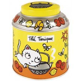 Derriere la Porte - Tea box yellow