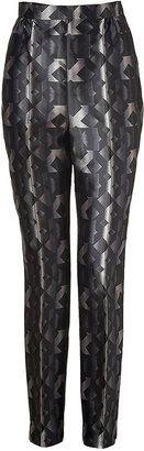 Peter Pilotto Black-Multi Printed Silk Grace Pants - Shop for women's Pants -  Pants