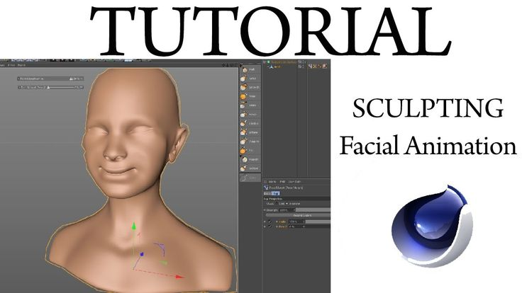 cinema 4d Sculpting Facial Animation