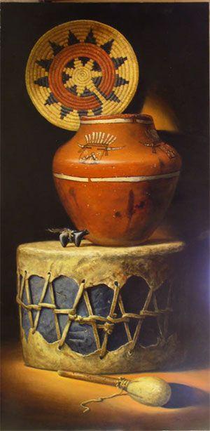 Native American Art At Tlaquepaque Arts And Crafts Village In Sedona Arizona