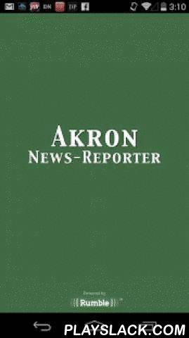 Akron News-Reporter  Android App - playslack.com ,  The brand-new Akron News Reporter mobile app is the most comprehensive, accurate, and content-rich source of local news for the communities of Akron, Colorado.Here are just a few of the many features of our new app:• Improved push notifications for Breaking News• Attractive layout for ease of use• Convenient sharing capabilities• Frequent updates to ensure the latest news is always at your disposal