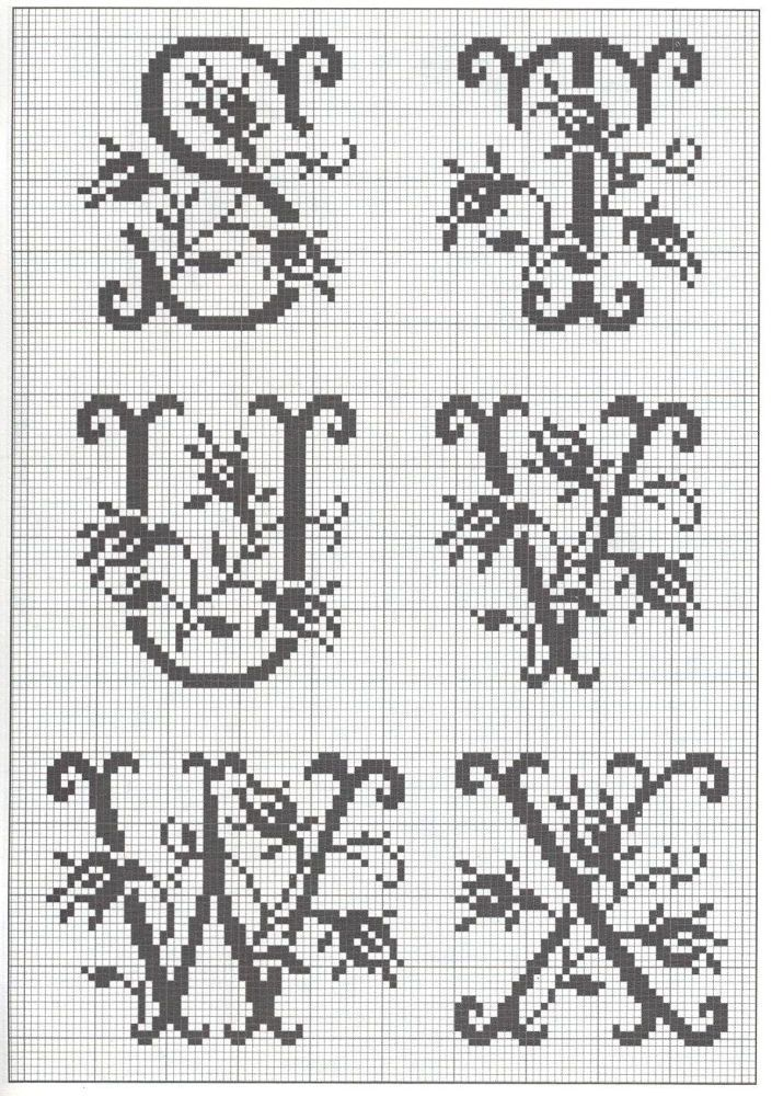 cross stitch letters 1879 best images about haft r 243 żny on 47230