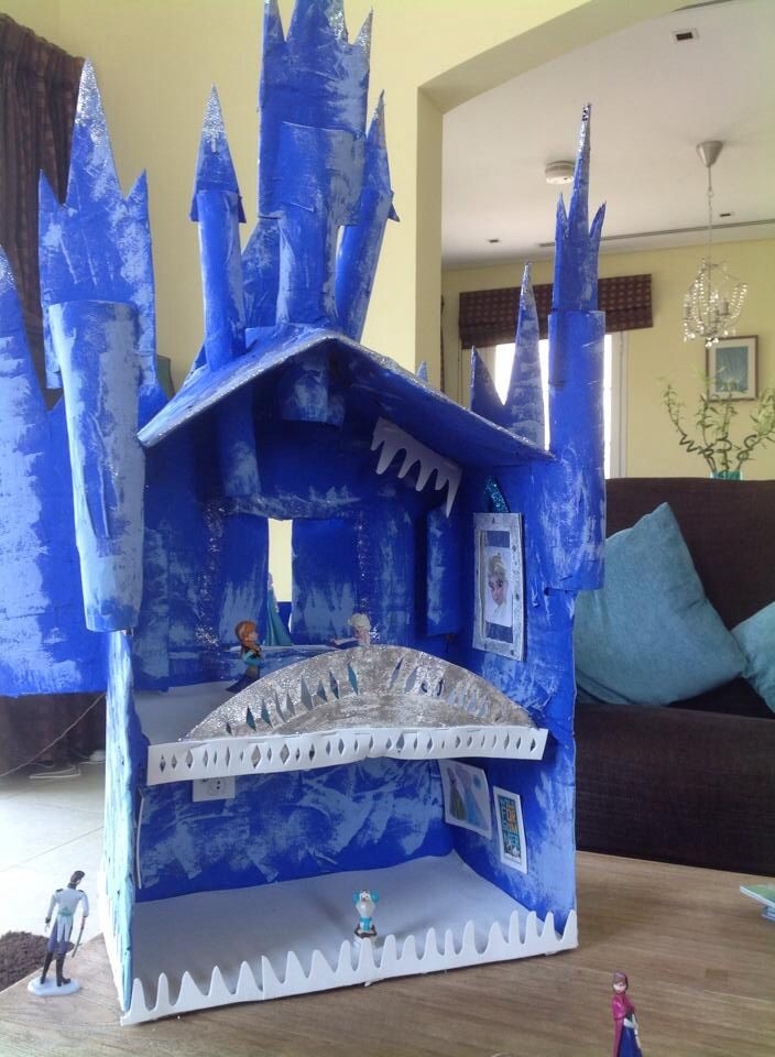 Frozen Diy Castle Frozen Pinterest Frozen Castles