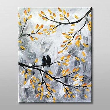 Landschaft Ölgemälde Handgemalte Leinwand Wall Art Andere Künstler Ein Panel Fertig zum Aufhängen – EUR € 72.99