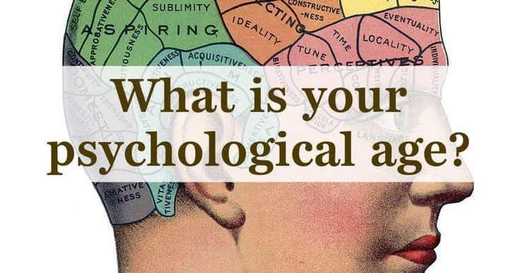 Psychological age is not necessarily equal to chronological age. For example, a person can have a psychological age that exceeds their chronological age, if they feel older than they really are. Answer 8 quick questions and this test will reveal your psychological age.
