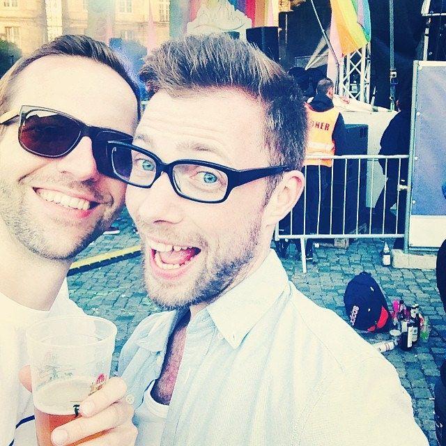 Stage-Selfie beim CSD Dresden
